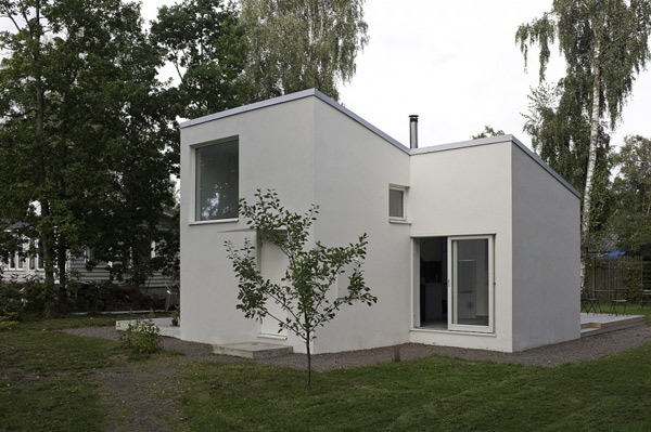 Compact Mini Home Dinel By Johansson Modern House Plans Designs 2014