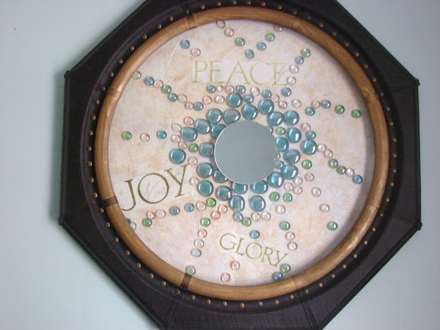 Clock Makeover #modpodge #repurpose #clock #crafts