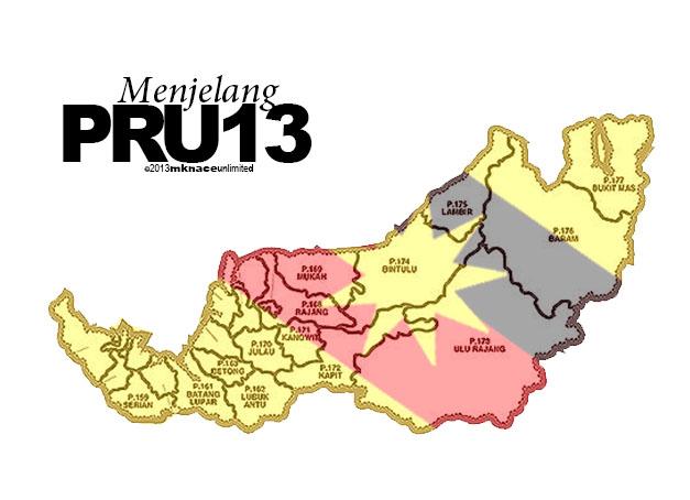 Pilihan Raya Umum Ke13 Senarai Calon Parlimen Dan Dewan Undangan Negeri Sarawak