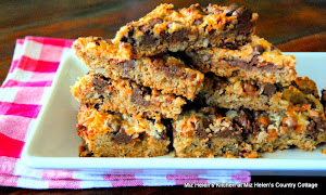 Caramel Chocolate Pecan Bars
