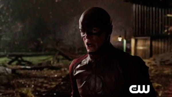 "Grant Gustin como The Flash en ""The Flash 1x01"""