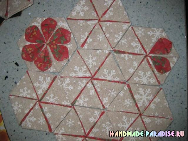 Как сшить летнюю сумку в технике оригами