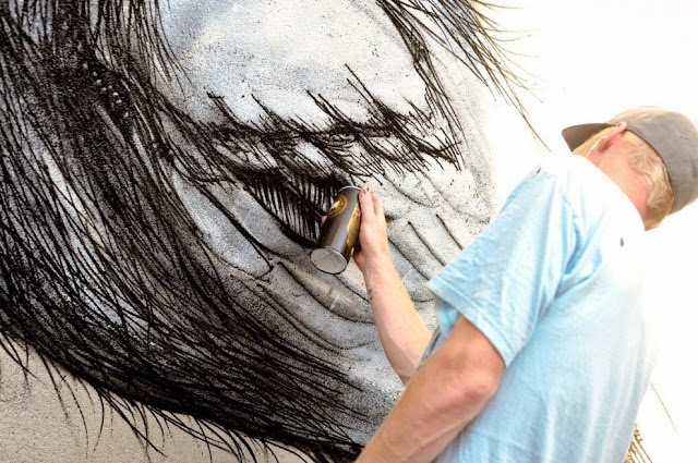 Street Art By Belgian Painter ROA For Lecco Street Art View '13 In Italy. 2