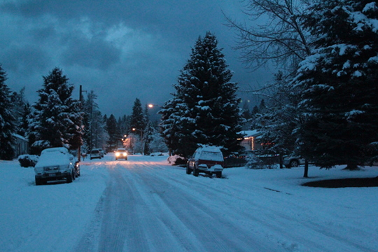 Sandpoint Idaho winter