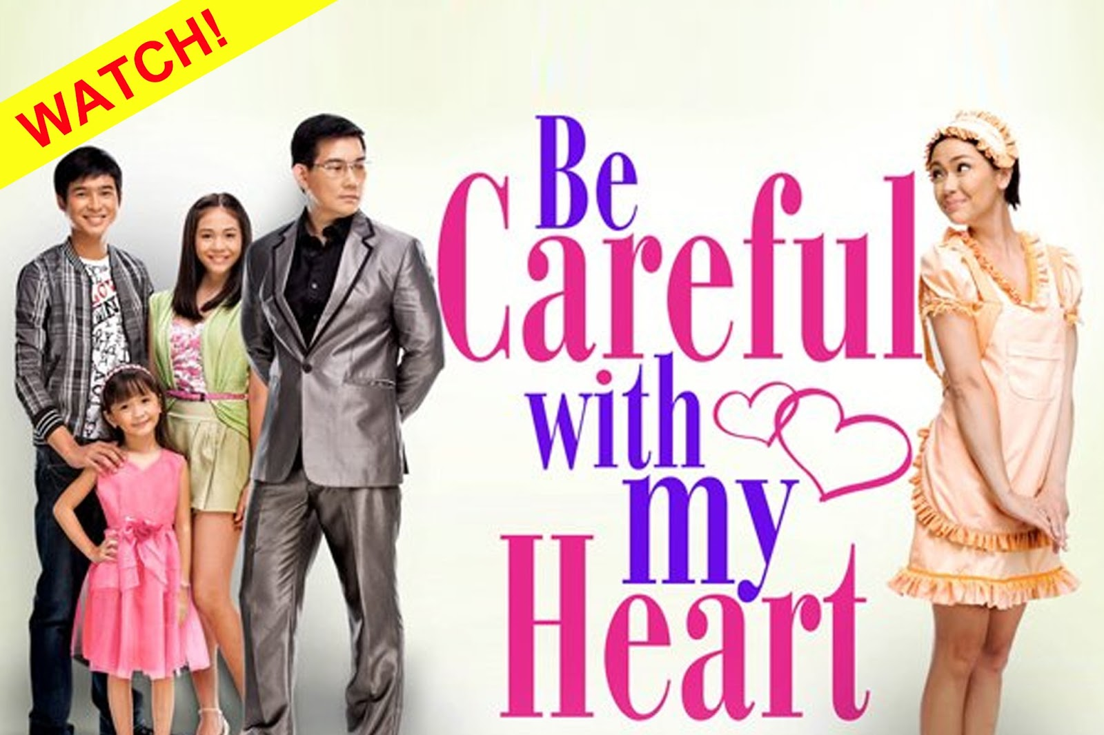 Be Careful With My Heart is a daytime teleserye which premiered on ABS