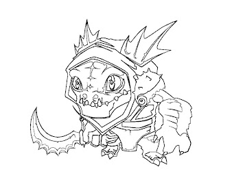 #30 Dota 2 Coloring Page