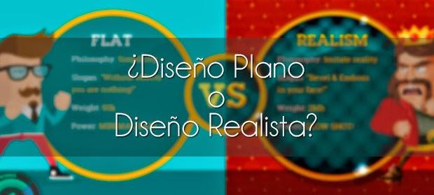 Diseño Plano o Diseño Realista