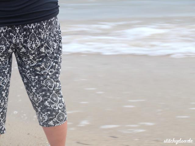 stitchydoo: Upcycling | Aus alter Tunika wird neue Sommerhose