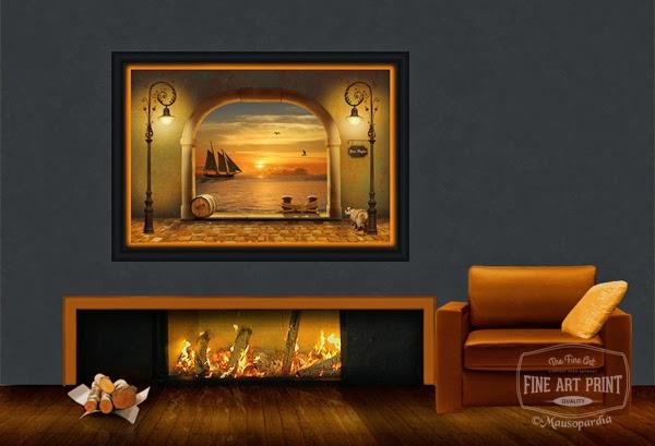 http://www.fineartprint.de/bilder/der-kleine-romantische-hafen,11344488.html