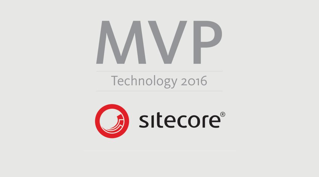 Sitecore MVP 2016