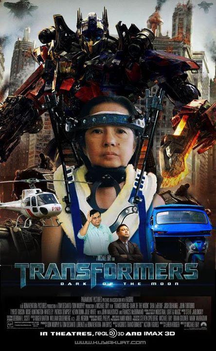 gloria-macapagal-arroyo-transformers-the-movie--funny-pinoy-jokes-atbp-laughing-trip - The Transformation of Gloria Arroyo - Philippine Photo Gallery
