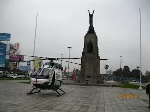 HELICOPTERO  DE LA PNP