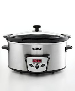 Bella 13601 Programmable Slow Cooker, 5 Qt