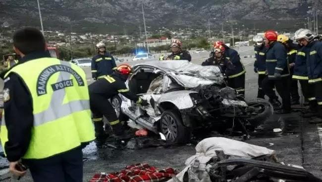 Τραγωδία: Τέσσερις νεκροί από τροχαίο δυστύχημα στον Εύοσμο Θεσσαλονίκης ΟΔΗΓΟΥΣΕ 17ΧΡΟΝΟΣ!