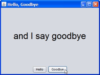 hey hey hey good bye