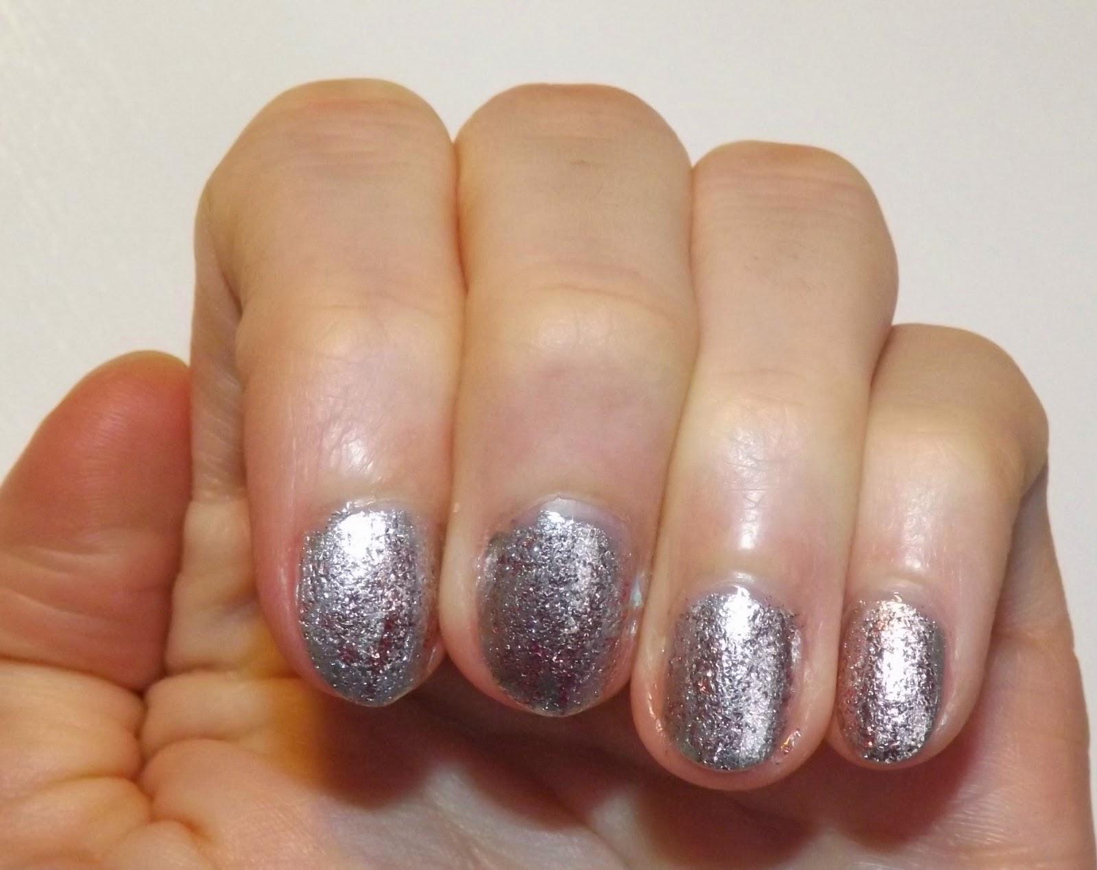 Perfectly Polished 12 Glittery Nail Art