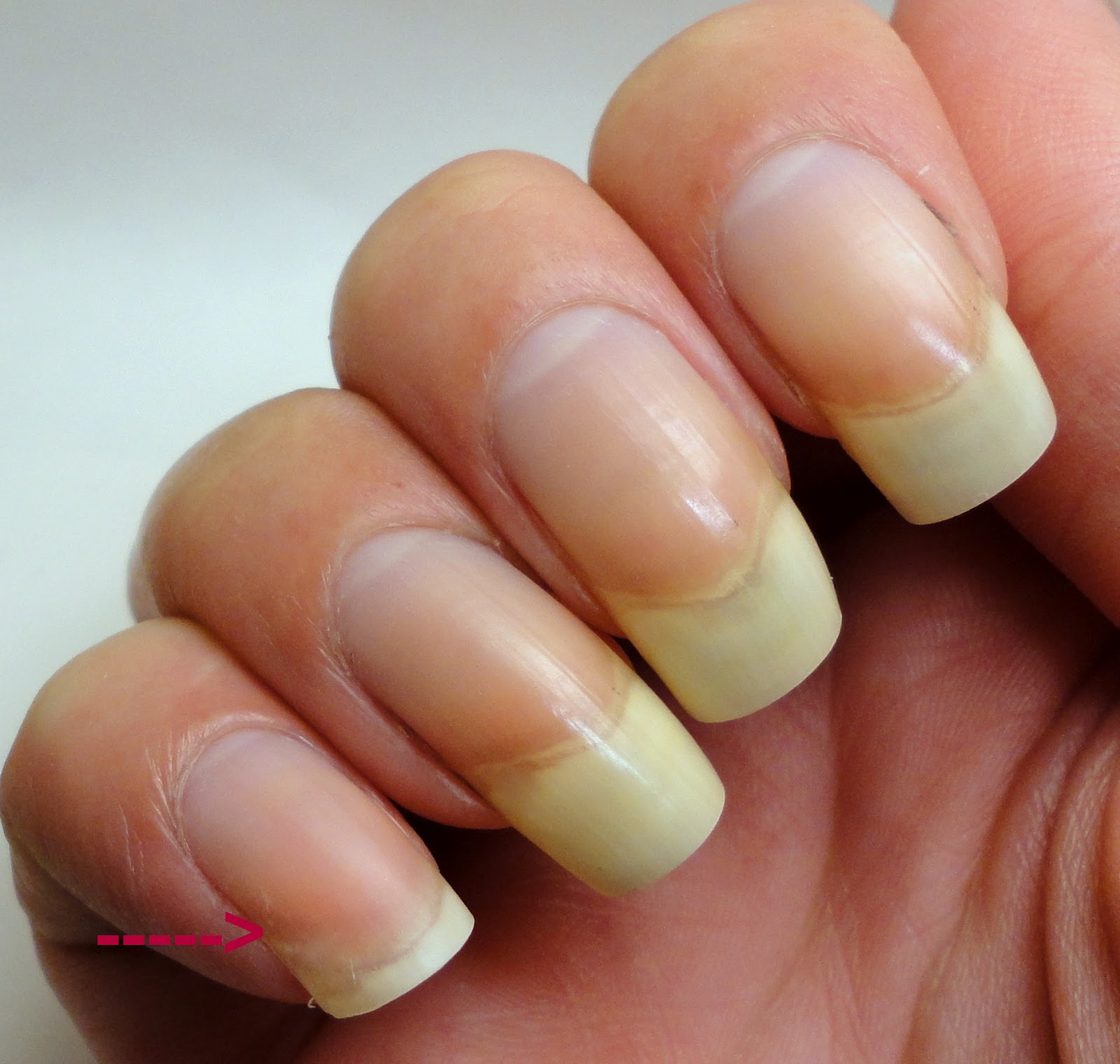 Nails By Ms Lizard How To Add Length A Broken Nail Without Fake
