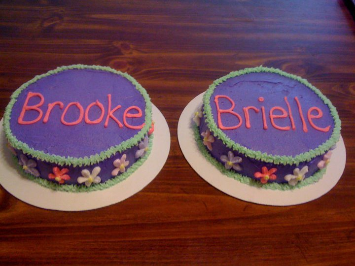 Shannons Crazy Kitchen Twins 1st Birthday Cake