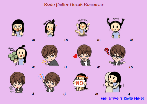 Cara Memasang Emoticon Stiker Smile Brush dan Gackt [Line] di Komentar Blog