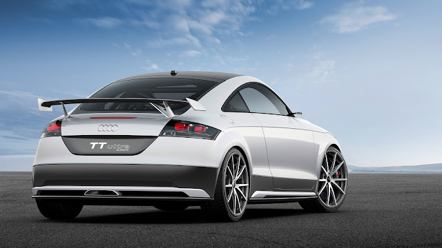 Audi TT Ultra Concept: The Leicht-est TT Yet Heads for the Worthersee Festival.