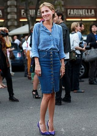 The Best Denim Look