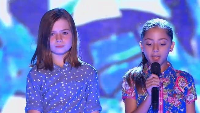 Evelyn y Aina: Pequeños Gigantes Gala 1