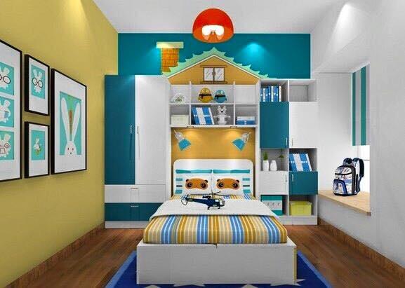 Dekorasi Warna Kamar Tidur Anak Minimalis Sederhana.txt