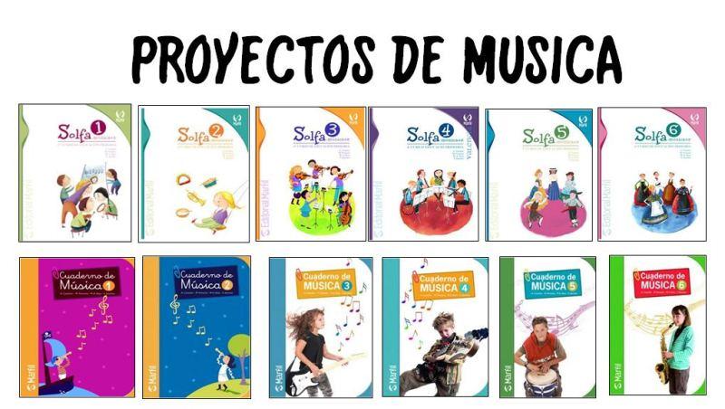 PROYECTOS DE MÚSICA