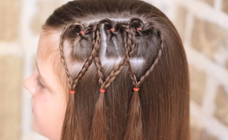Bonitos Peinados Con Trenzas - 5 Peinados Faciles Y Rapidos Y Bonitos Con Trenzas (P9) Peinado
