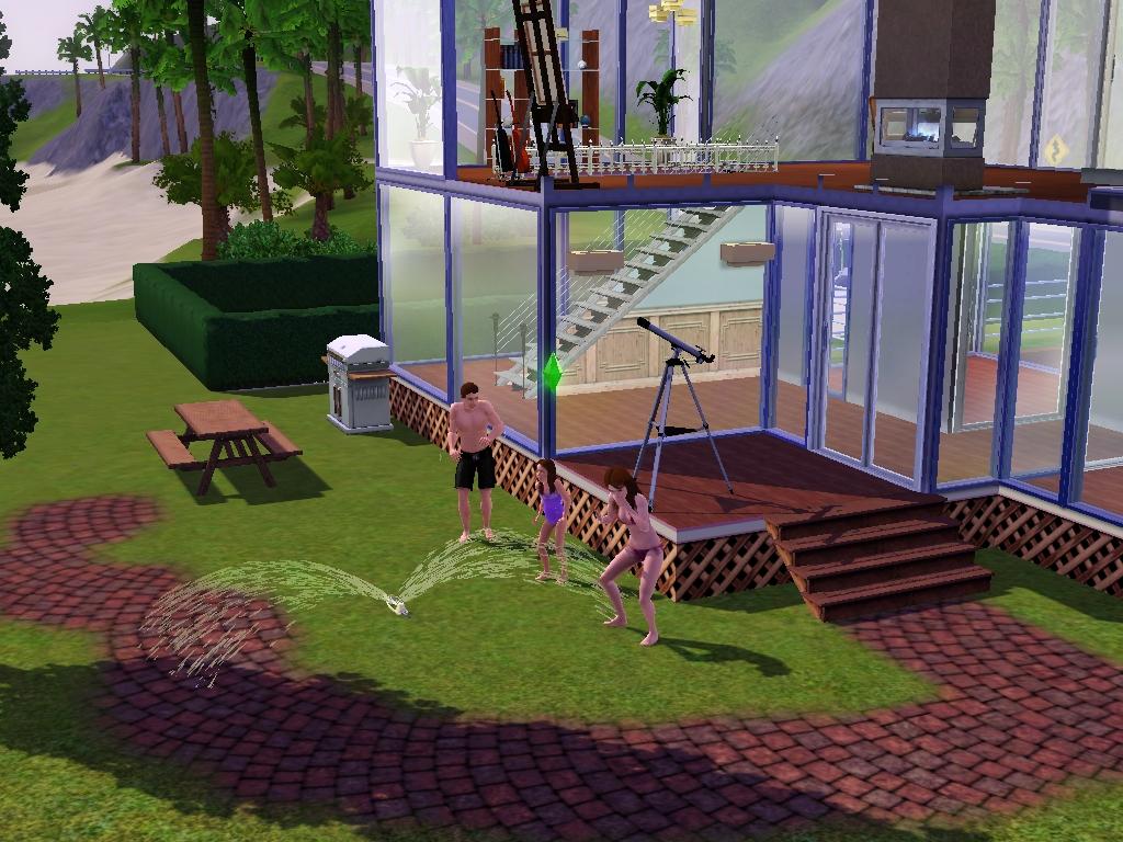Freeze Winter Desain Rumah Sims 3 Mewah 2 & Gambar Desain Rumah Sims 4 Kumpulan House Mewah di Rebanas - Rebanas