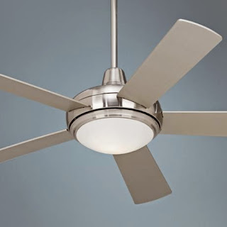 52 inch Casa Compass Ceiling Fan in Brushed Nickel