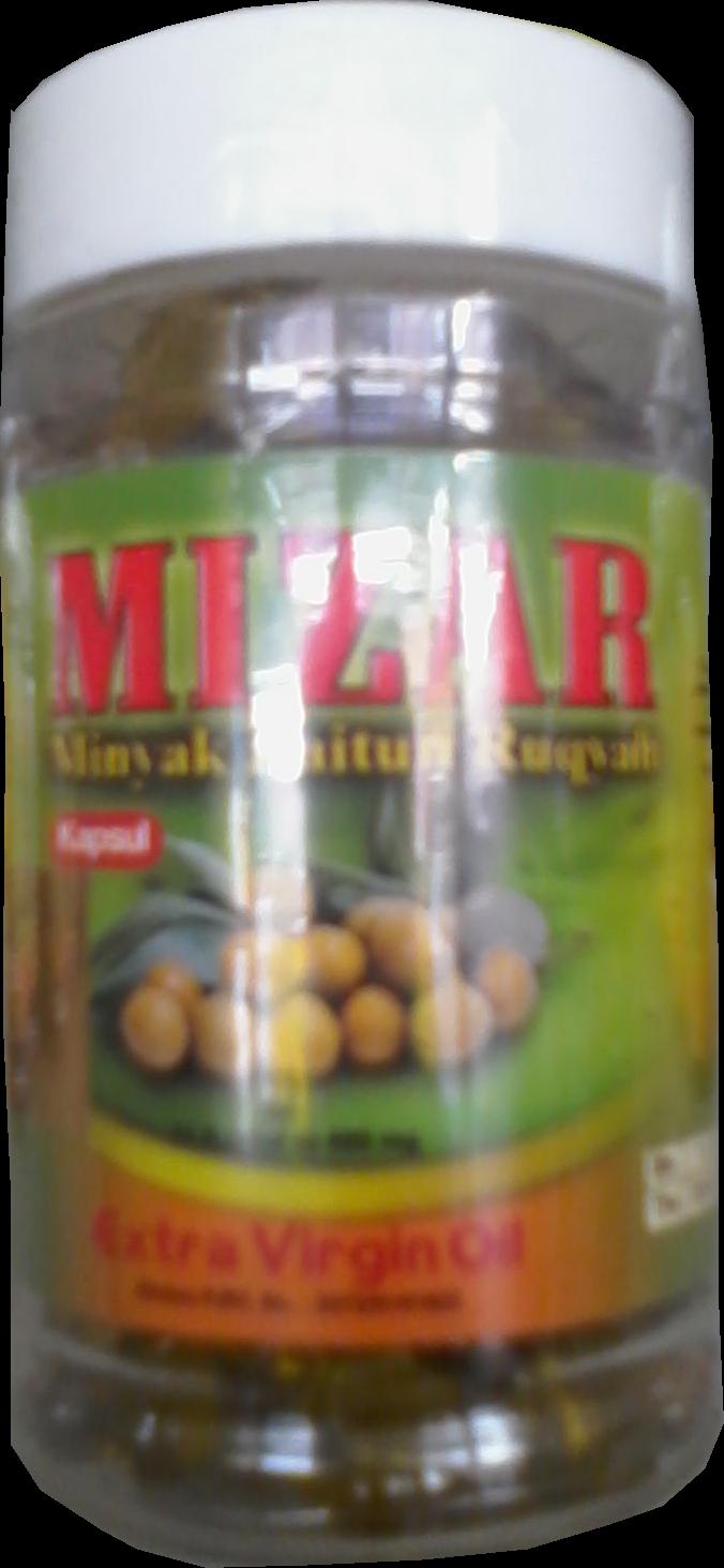 Mizar Zaitun Minyak Ruqiyah Isi 125 Ml Cair 100 Kapsul