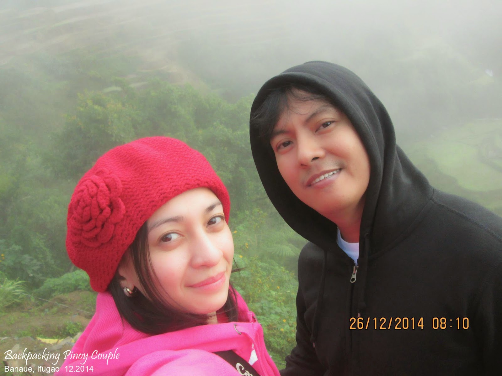 Backpacking Pinoy Couple, Sagada, Mountain Province, Philippines, Banaue Rice Terraces