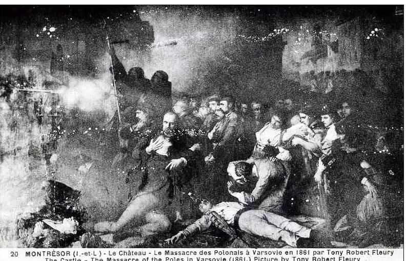 Tony Robert-Fleury massacre varsovie