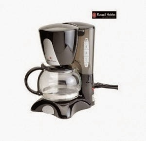 Shopclues: Buy Russell Hobbs RCM60 650 Watt Drip Coffee Machine at Rs.1170 + Rs. 24 Clue Bucks
