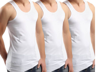 Shopclues : Buy Lakhani Gold Vest Combo set of 3 Vest at Rs.149 only