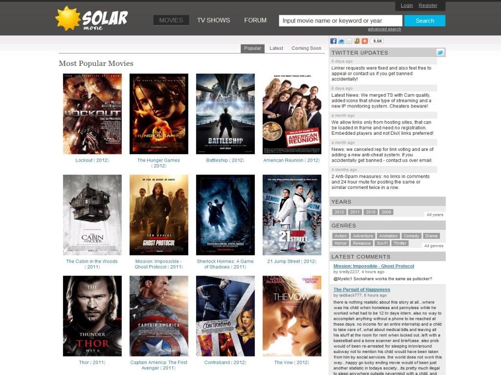 Free Movies Line SolarMovie