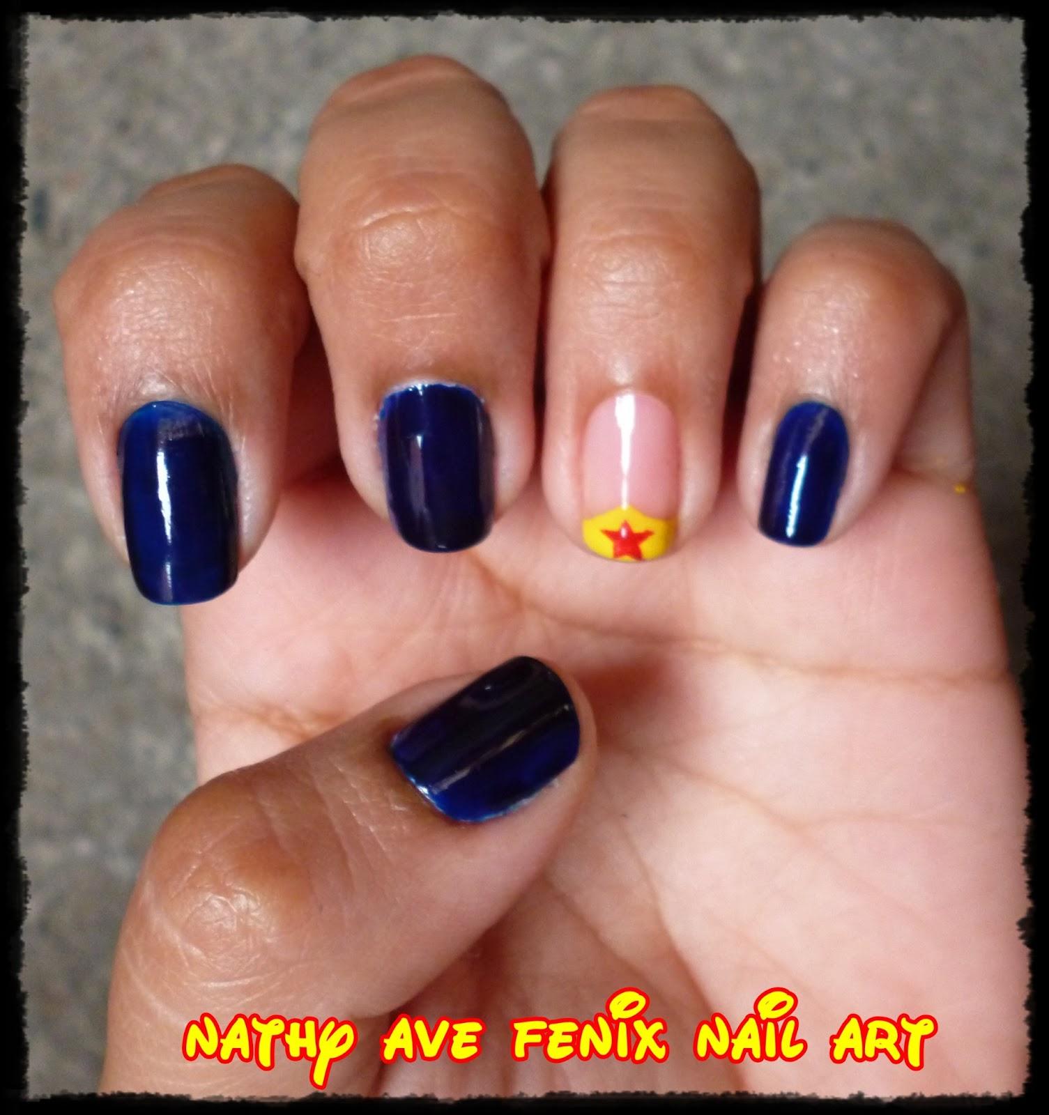 Nail Art Pik Avenue: NATHY AVE FENIX NAIL ART: DÍA 24 DEL RETO: SUPER HEROES