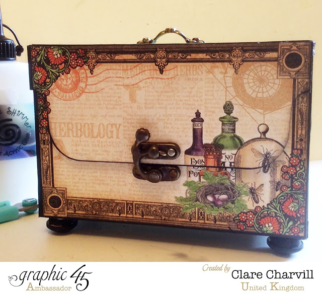 Rare Oddities ATC Box Clare Charvill Graphic 45