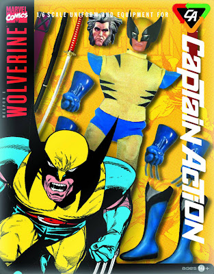 Take 2 Captain Action Wolverine Costume Set
