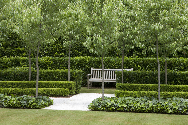 French garden sydney peter fudge for Formal garden design