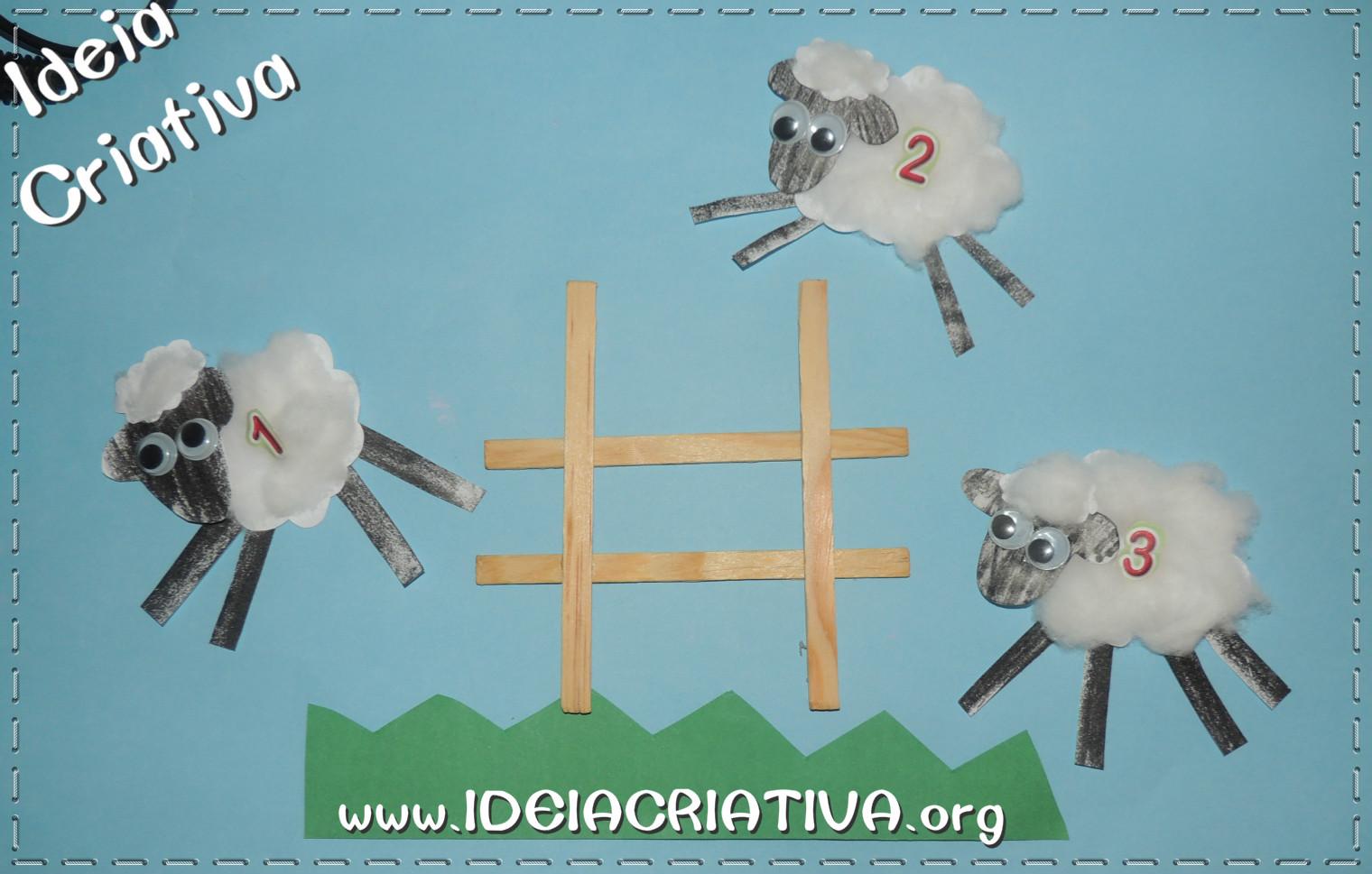 Atividade Páscoa Cristã Contando Cordeirinhos