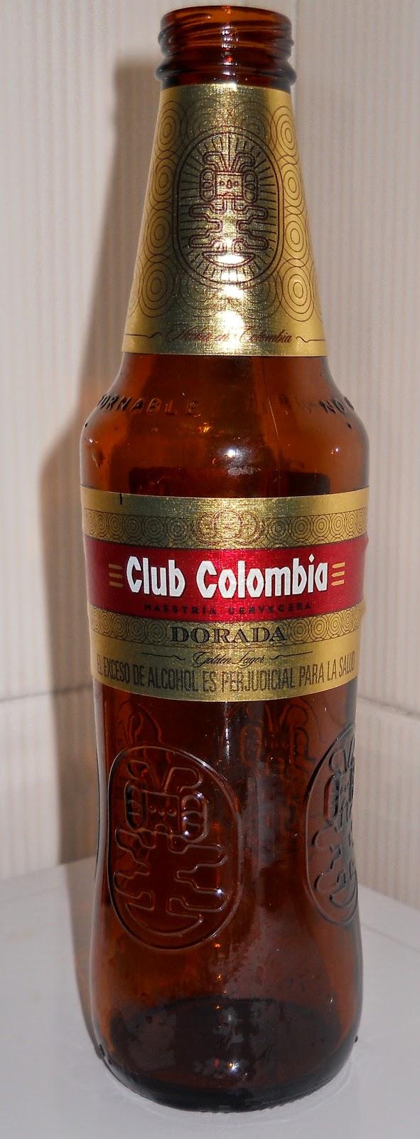 cerveza colombiana Club Colombia Dorada