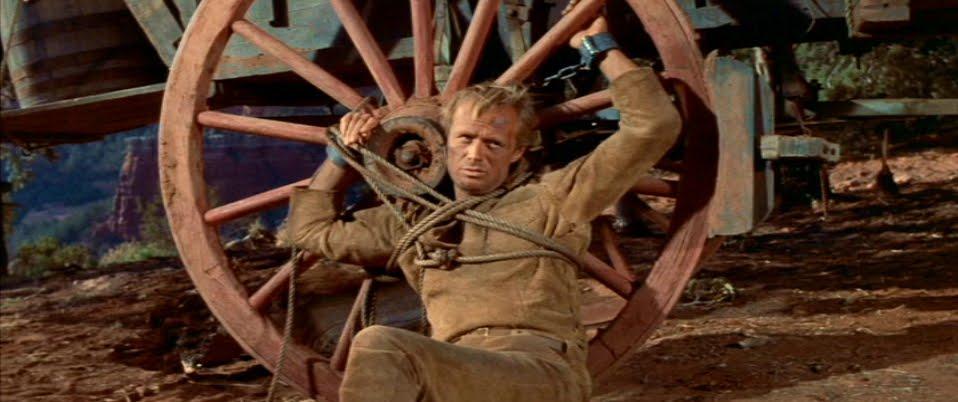 Richard Widmark the last wagon