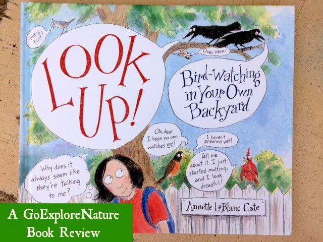 Book Review: Look Up! Bird-Watching in Your Own Backyard