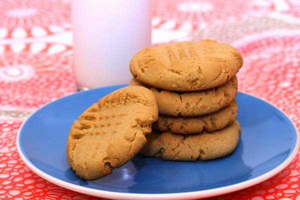 Powdered Peanut Butter Cookies