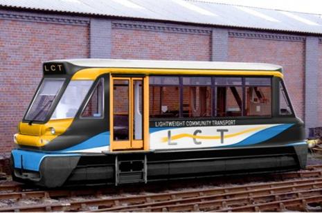 A class 139 lightweight railcar