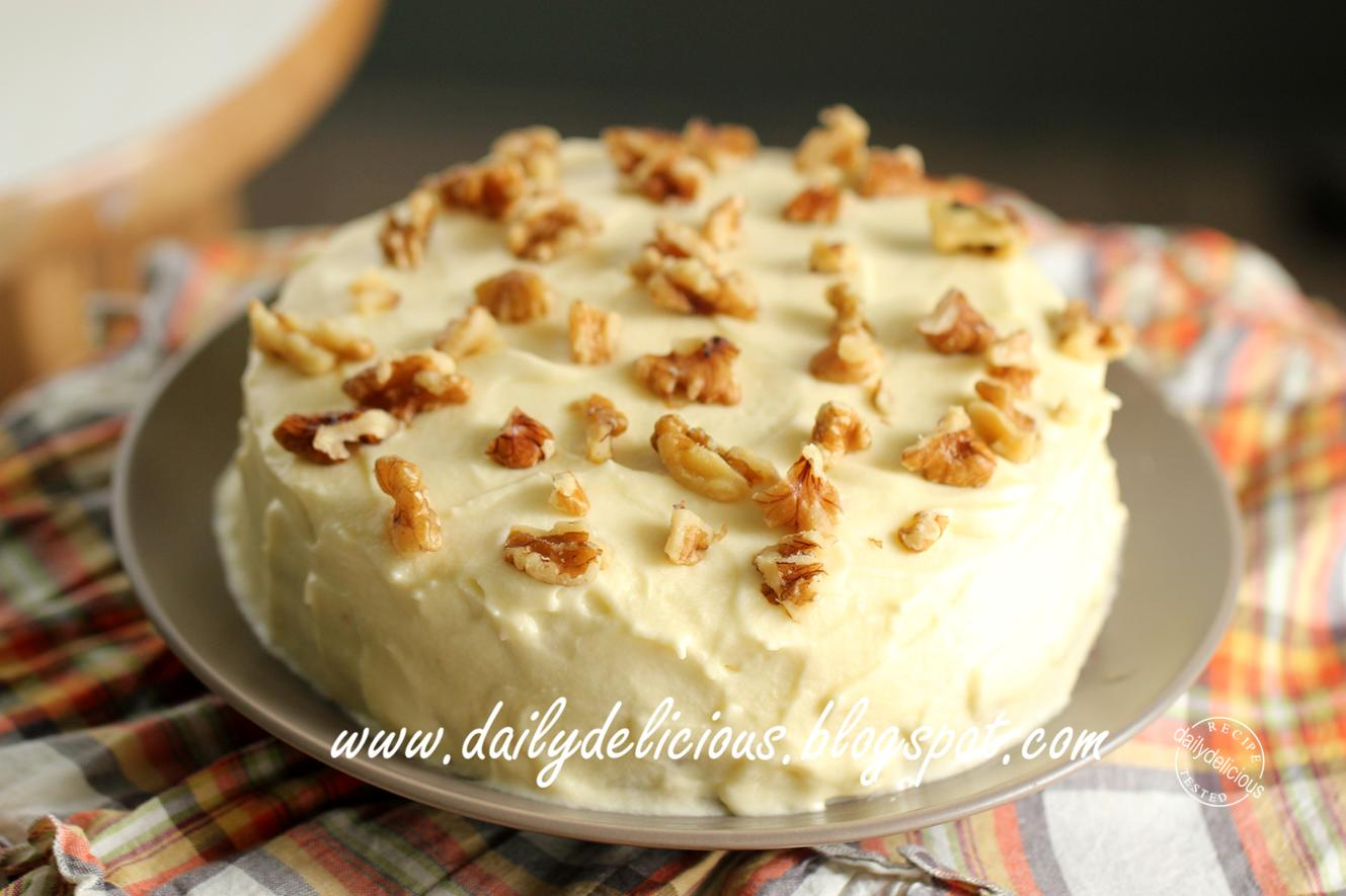 Easy Carrot Cake From A Box