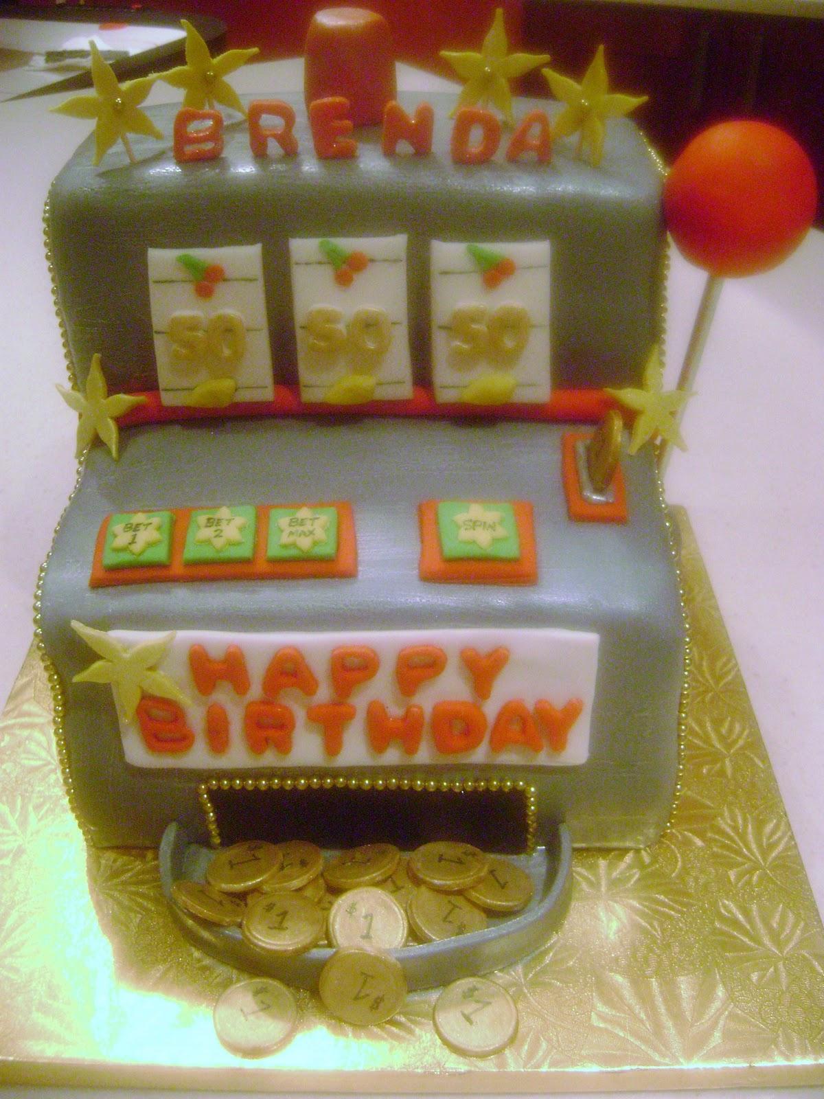 Marymel Cakes Slot Machine 50th Birthday