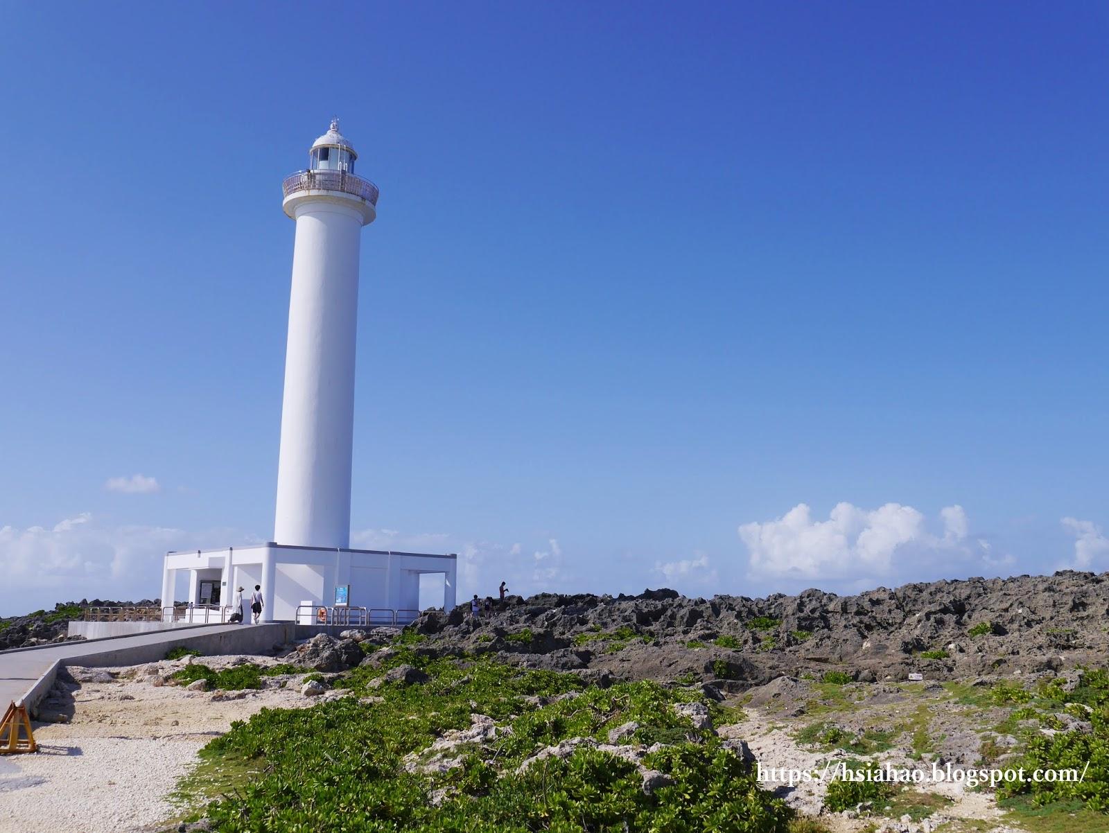 沖繩-景點-推薦-殘波岬-燈塔-自由行-旅遊-Okinawa-Zanpa-light-house